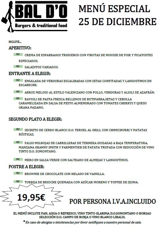 Zaragoza menús, menú navidad, restaurantes zaragoza, Puerto Venecia